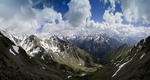 Caucasus. Mountains range, Russian Fed Stock Photography