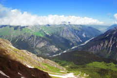 Caucasus Mountains. Region Dombay. Stock Image