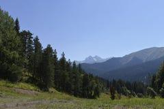 Caucasus Mountains Stock Image