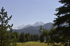 Caucasus Mountains Royalty Free Stock Image