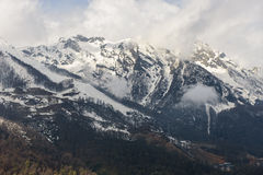 Caucasus mountains Stock Photo