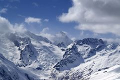 Caucasus Mountains. Sulahat. Royalty Free Stock Photography