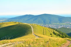 Caucasus Mountains in summer Stock Photography