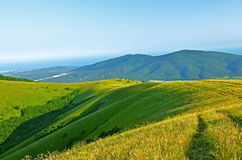 Caucasus Mountains in summer Royalty Free Stock Photography
