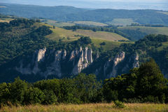 Caucasus mountains. Summer landscape in the mountains Stock Images
