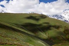 Svaneti mountains in Georgia stock image
