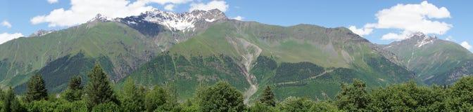 Caucasus Mountains, Swanetia, Georgia, Europe Stock Photos