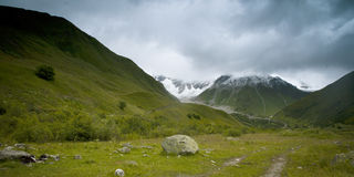 Caucasus mountains taken in Swanetia Royalty Free Stock Photography