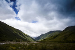 Caucasus mountains taken in Swanetia Stock Photo