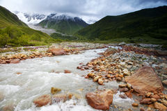 Caucasus mountains taken in Swanetia. Georgia Stock Photo