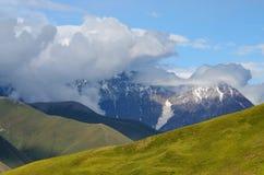 Caucasus mountains in Upper Svaneti,trek to Ushguli village Stock Photography