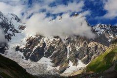 Caucasus mountains Royalty Free Stock Photo
