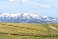 Caucasus mountains royalty free stock images