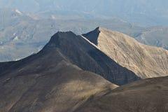 Caucasus mountines range Royalty Free Stock Images