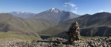 Caucasus mountines range Royalty Free Stock Photography