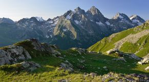 Caucasus panorama Royalty Free Stock Image