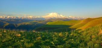 Caucasus panorama Stock Photos