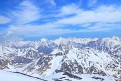 Caucasus ridge Royalty Free Stock Image