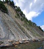 caucasus rock Royaltyfri Foto