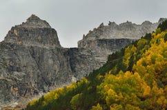 Caucasus rock Stock Photography