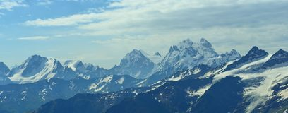 Caucasus summits Stock Images