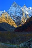 Caucasus summits Royalty Free Stock Images
