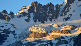 Caucasus summits Royalty Free Stock Photo