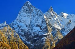 Caucasus summits Royalty Free Stock Photos