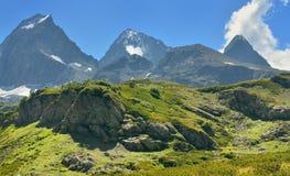 Caucasus summits Stock Image