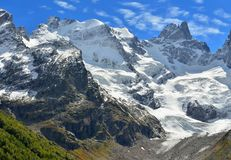 Caucasus summits Stock Photo