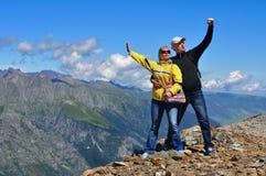 Tourist walk Stock Photography