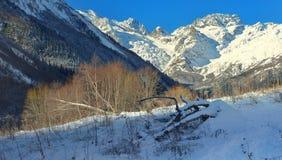 Caucasus valley Stock Images