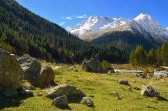 Caucasus valley Stock Image