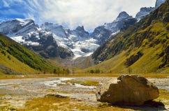 Caucasus valley Royalty Free Stock Photo