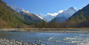 Caucasus valley Royalty Free Stock Photos
