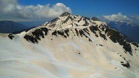 Caucasus. View of the Caucasus Mountains from Rosa Peak stock images