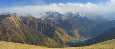 Caucasus view Stock Photo