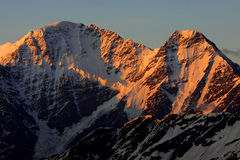 caucasus wschód słońca Fotografia Stock