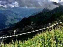 Caucause mountain stock photography