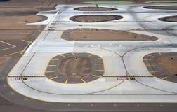 Cauce del aeropuerto Imágenes de archivo libres de regalías