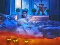 Cauchemar pour des enfants Photos libres de droits