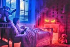 Cauchemar pour des enfants Photographie stock
