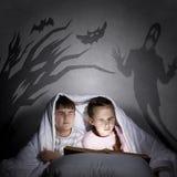 Cauchemars d'enfants Image libre de droits