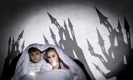 Cauchemars d'enfants Photographie stock