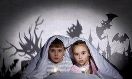 Cauchemars d'enfants Photos libres de droits