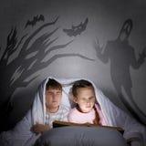 Cauchemars d'enfants Images stock