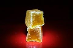Cauchutoso multi inconsútil del postre de los caramelos de las jaleas de fruta Foto de archivo