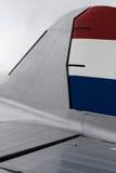 Cauda clássica do avião Imagens de Stock Royalty Free