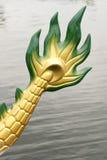Cauda da parte traseira do barco do dragão Imagem de Stock