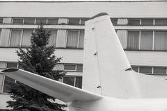 Cauda de um avião Imagens de Stock